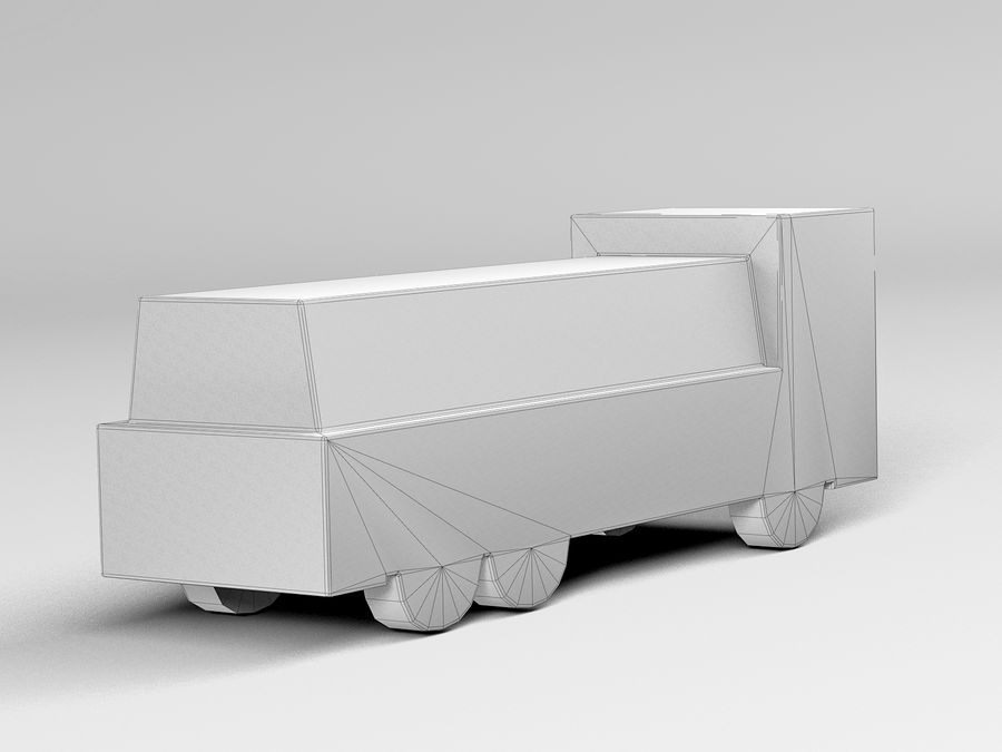 Modello 3D Autocisterna royalty-free 3d model - Preview no. 10
