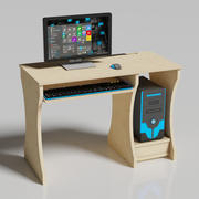 Ordinateur de bureau 3d model