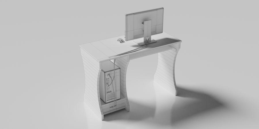 Desktop-Computer royalty-free 3d model - Preview no. 11