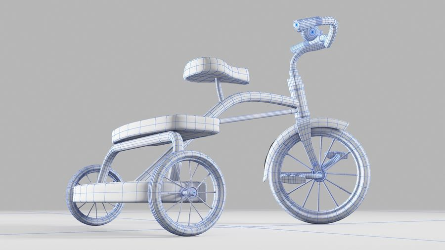 Fiets royalty-free 3d model - Preview no. 7