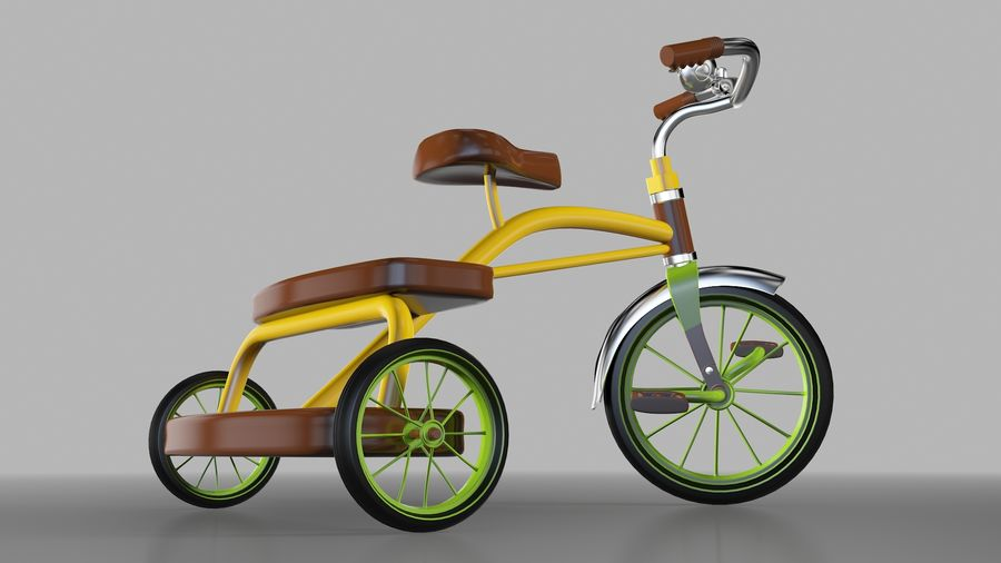Fiets royalty-free 3d model - Preview no. 2
