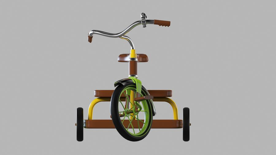 Fiets royalty-free 3d model - Preview no. 3