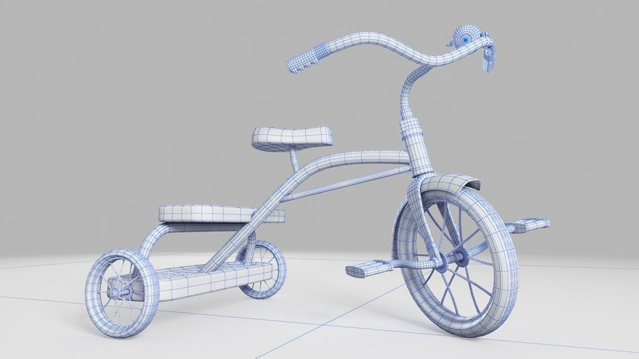 Fiets royalty-free 3d model - Preview no. 6