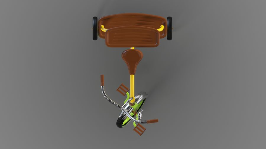 Fiets royalty-free 3d model - Preview no. 5
