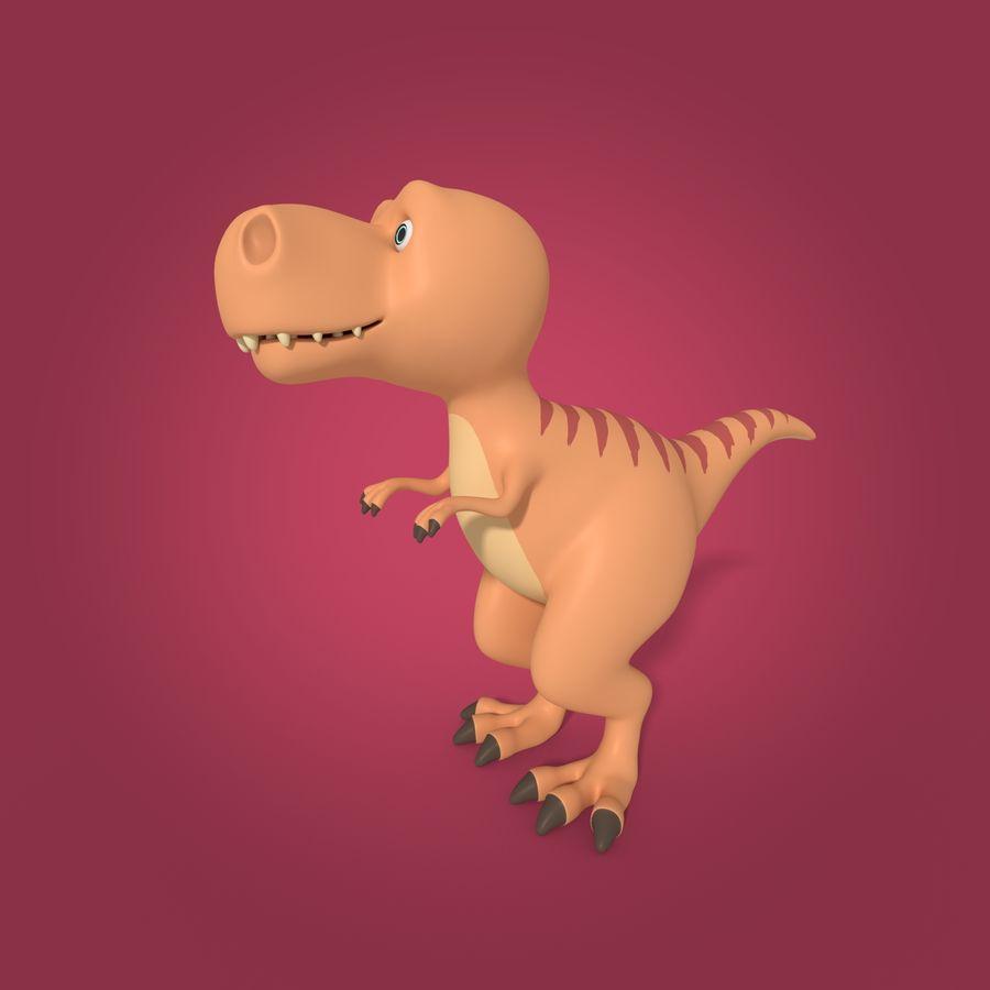 Dino Dinosaur Trex royalty-free 3d model - Preview no. 1