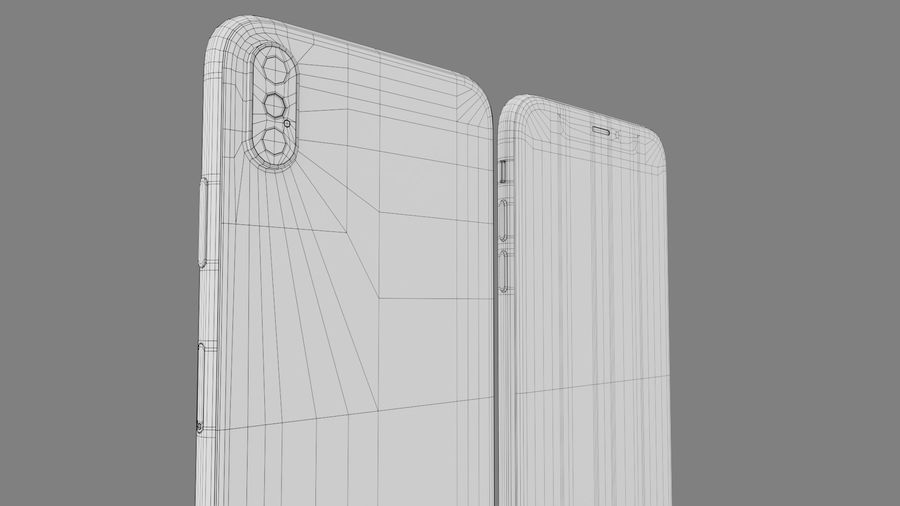 iPhone royalty-free 3d model - Preview no. 11