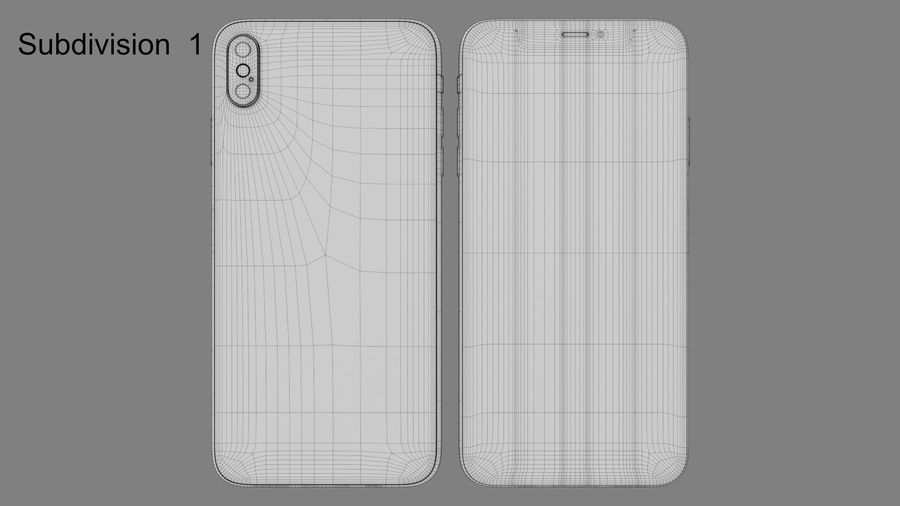 iPhone royalty-free 3d model - Preview no. 10