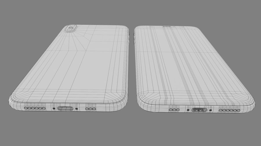 iPhone royalty-free 3d model - Preview no. 12
