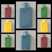 Бутылка горячей воды 3d model