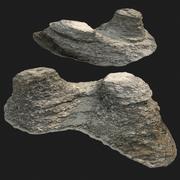 varredura de pedra rauk A 3d model