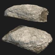 varredura de pedra rauk E 3d model