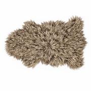 Chevet en peau de mouton Tapis en fourrure 3d model
