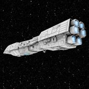 Rendili Class Star Dreadnought 3d model