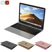 苹果MacBook 12英寸 3d model