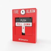 Пожарная тревога 3d model