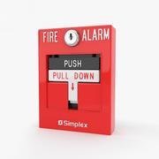 Allarme antincendio 3d model
