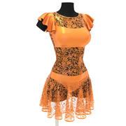 Latino dress N2 3d model