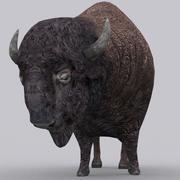 3DRT - Bison 3d model