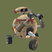 robot carino 3d model