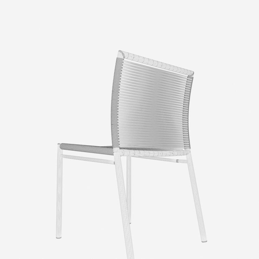 Chair Tidelli Bali royalty-free 3d model - Preview no. 13