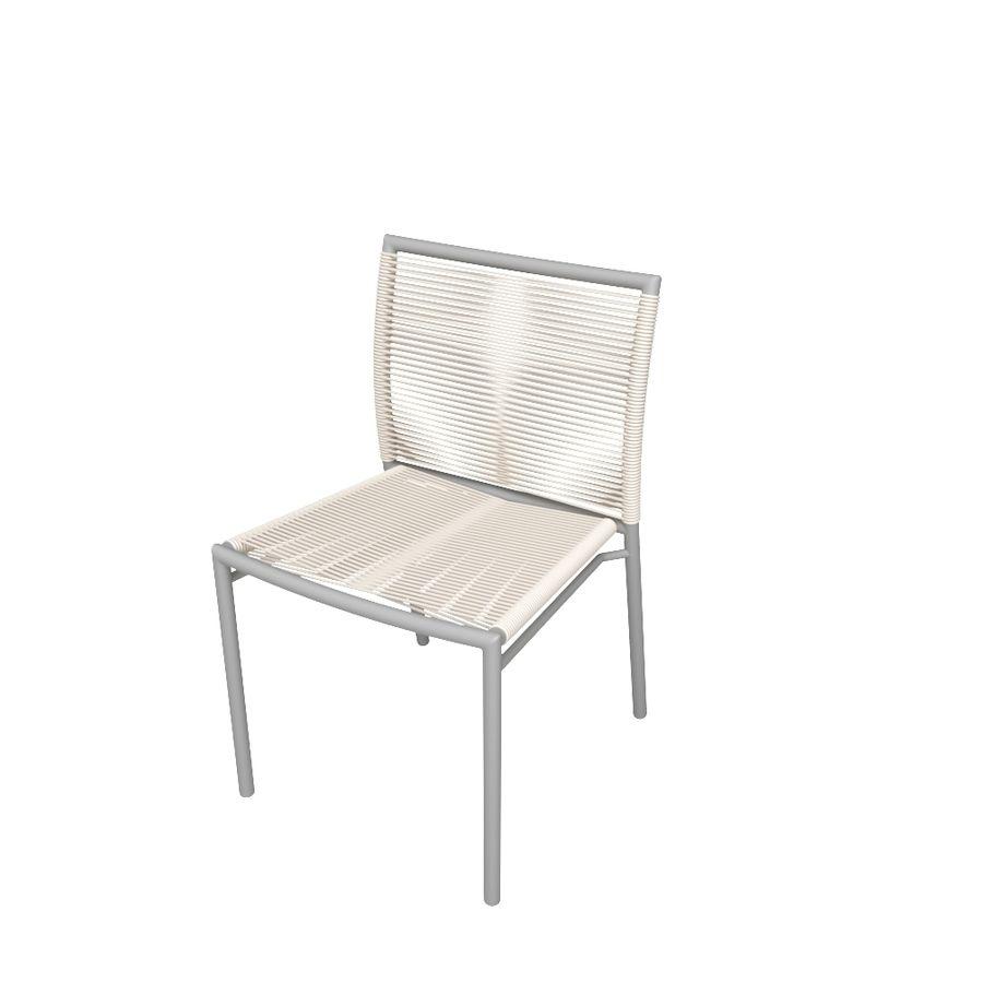 Chair Tidelli Bali royalty-free 3d model - Preview no. 2