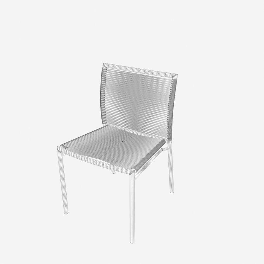 Chair Tidelli Bali royalty-free 3d model - Preview no. 9
