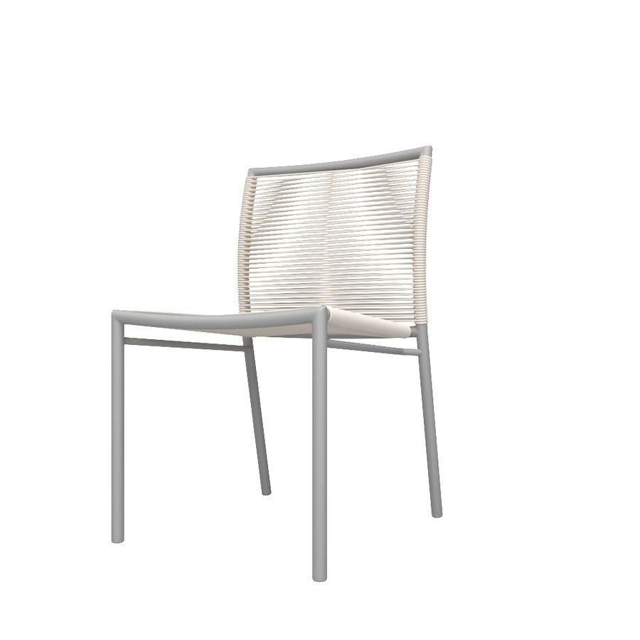 Chair Tidelli Bali royalty-free 3d model - Preview no. 1