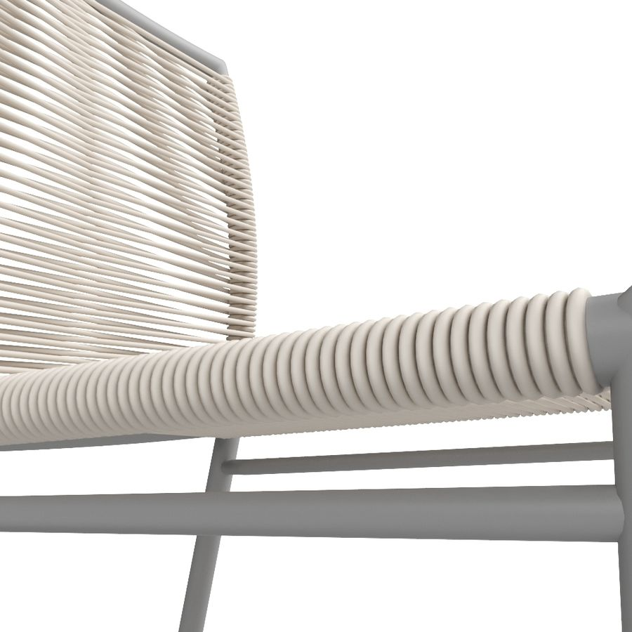Chair Tidelli Bali royalty-free 3d model - Preview no. 6