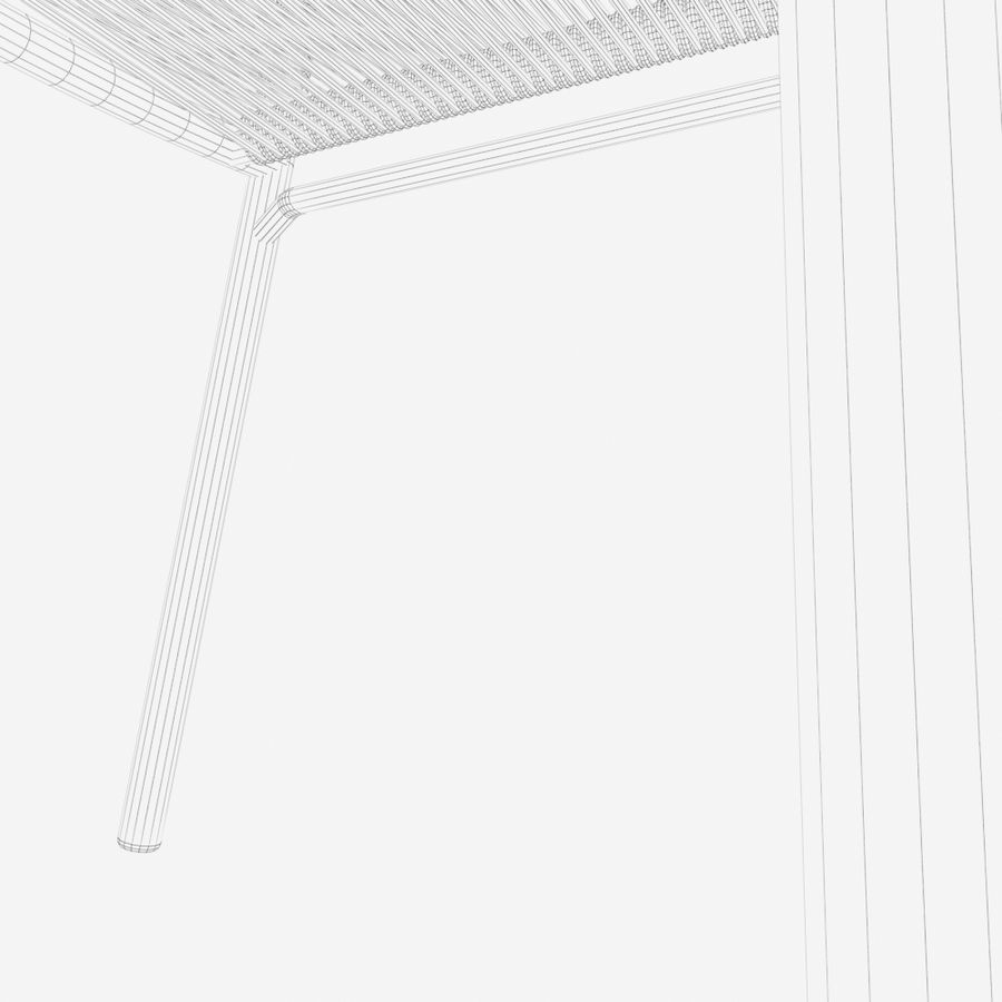 Chair Tidelli Bali royalty-free 3d model - Preview no. 16