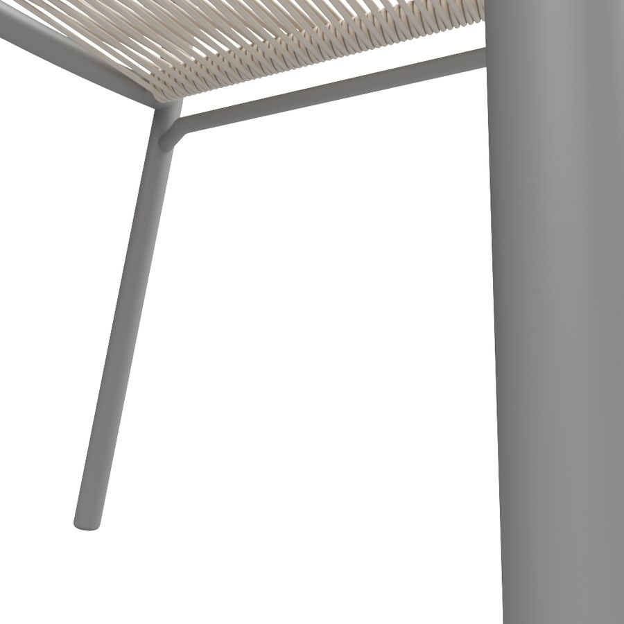 Chair Tidelli Bali royalty-free 3d model - Preview no. 8