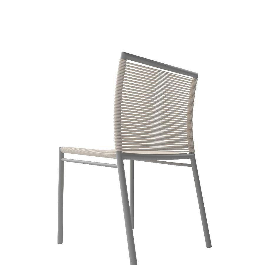 Chair Tidelli Bali royalty-free 3d model - Preview no. 4