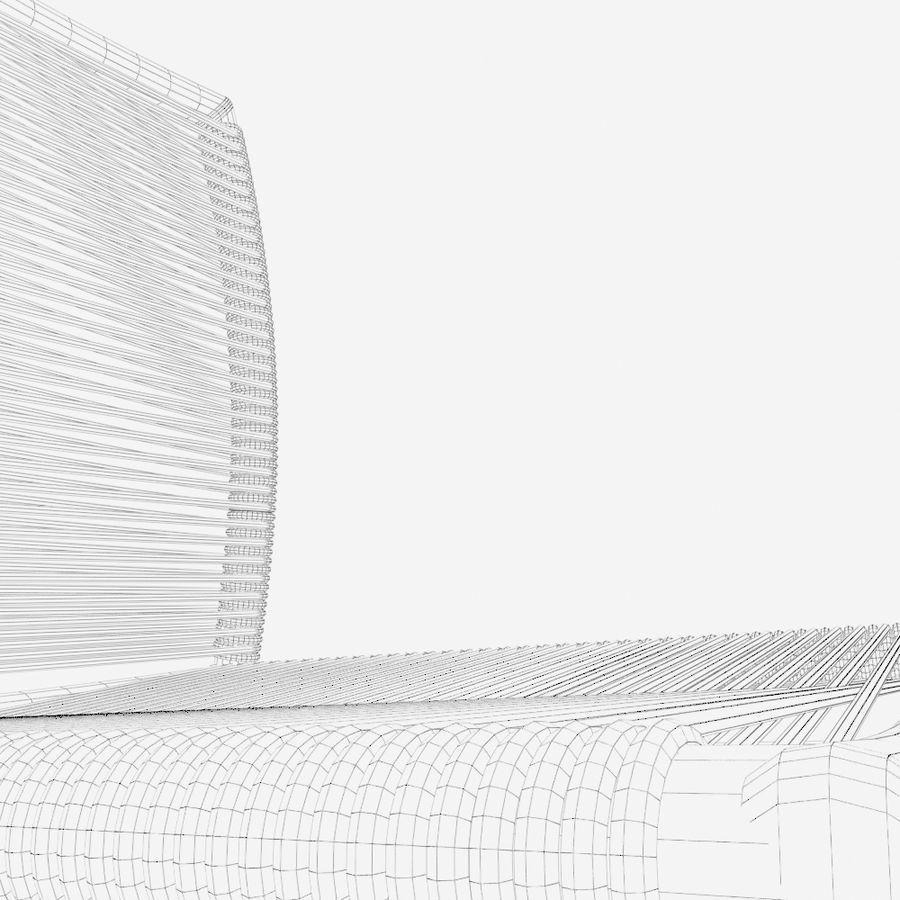 Chair Tidelli Bali royalty-free 3d model - Preview no. 17