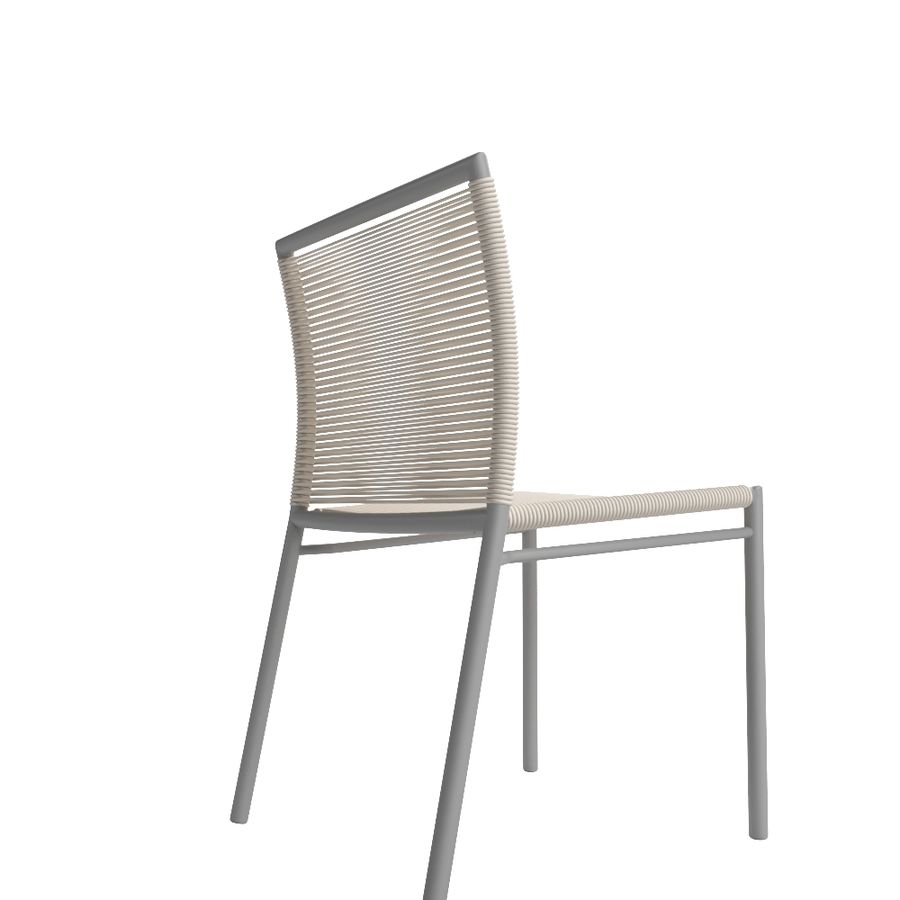 Chair Tidelli Bali royalty-free 3d model - Preview no. 5