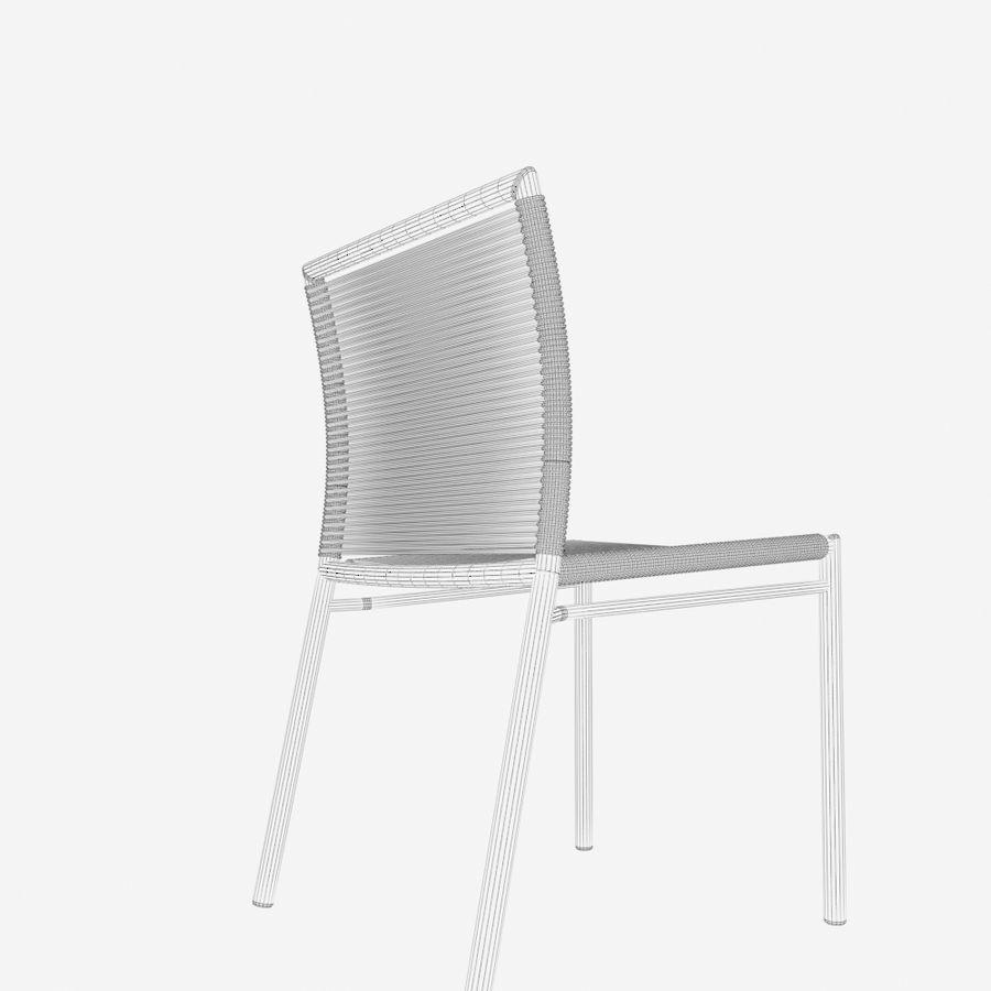 Chair Tidelli Bali royalty-free 3d model - Preview no. 14