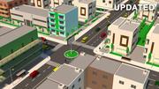 cidade simples 3d model