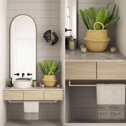 Badezimmer 30 3d model