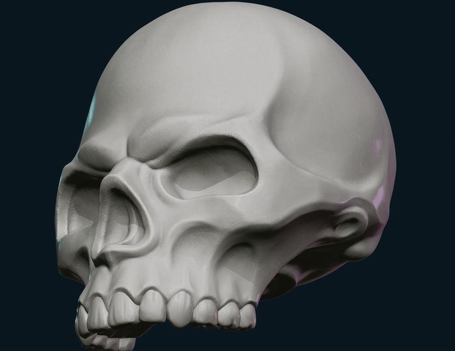 Череп royalty-free 3d model - Preview no. 6