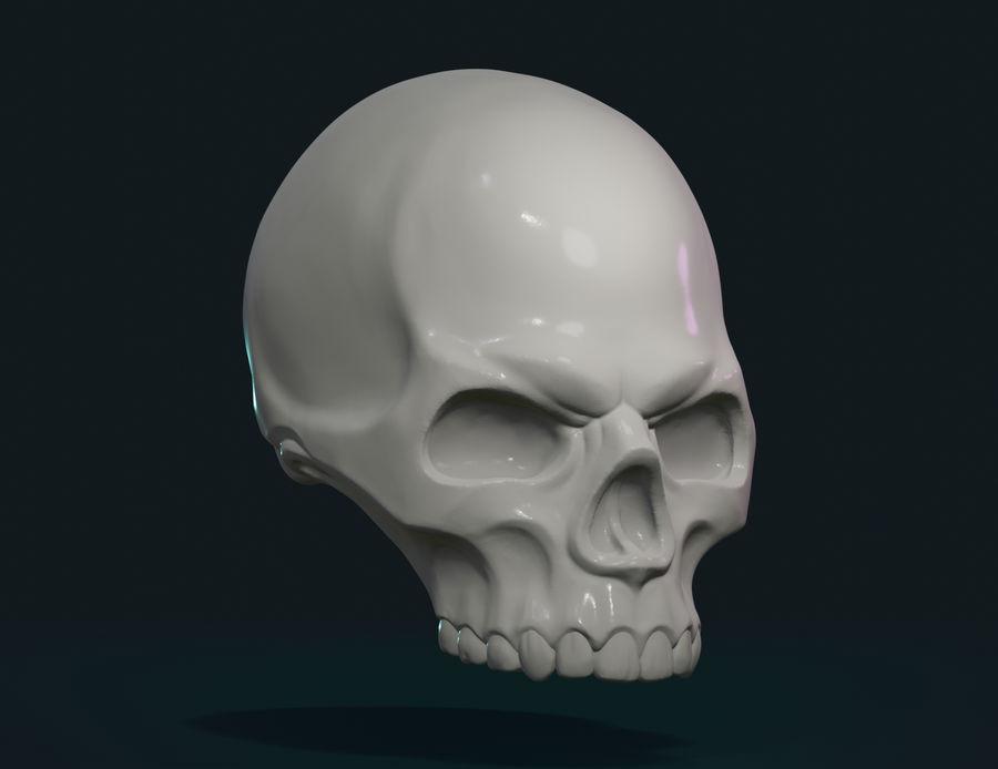 Череп royalty-free 3d model - Preview no. 5