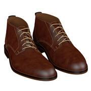 Zapatos marrones modelo 3d