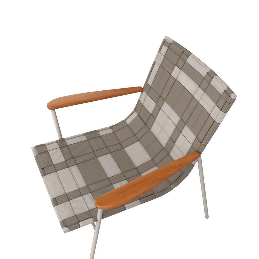 Chair Amado Tidelli royalty-free 3d model - Preview no. 3