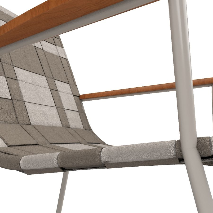 Chair Amado Tidelli royalty-free 3d model - Preview no. 10