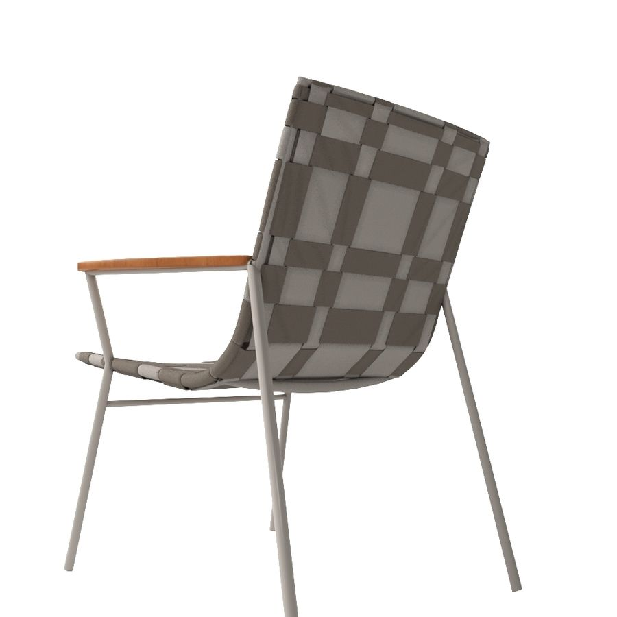 Chair Amado Tidelli royalty-free 3d model - Preview no. 4