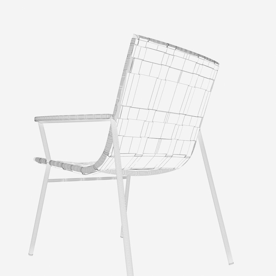 Chair Amado Tidelli royalty-free 3d model - Preview no. 13