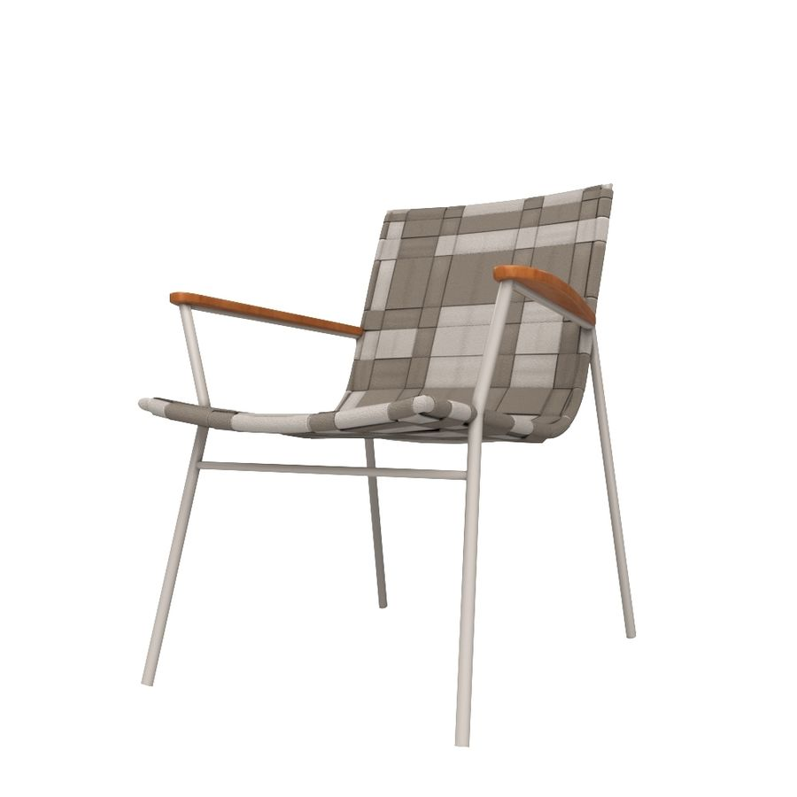 Chair Amado Tidelli royalty-free 3d model - Preview no. 1