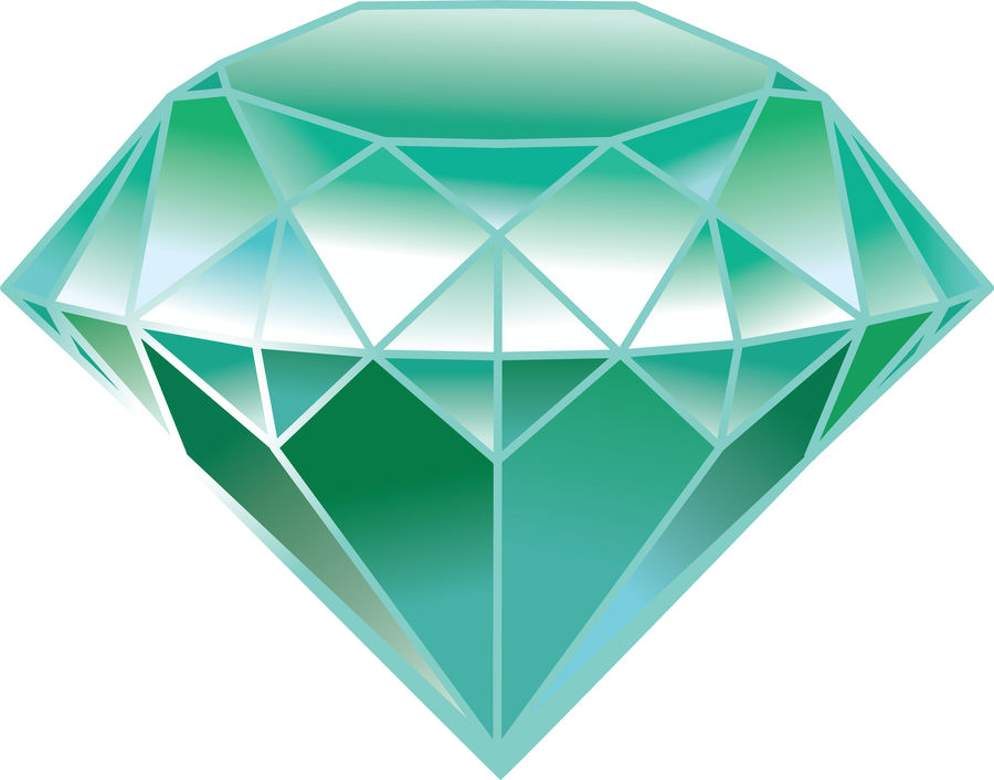 beautiful diamond royalty-free 3d model - Preview no. 10