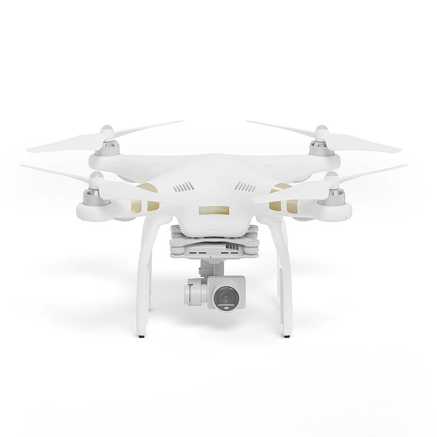 Drone 3D Model royalty-free 3d model - Preview no. 1