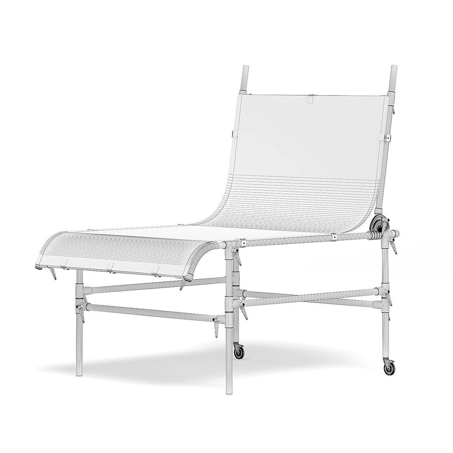 Studio Table 3D Model royalty-free 3d model - Preview no. 2