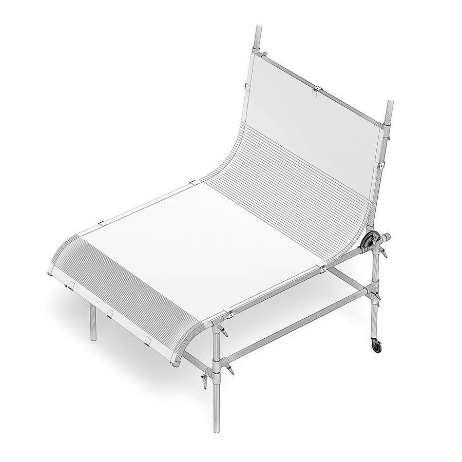 Studio Table 3D Model royalty-free 3d model - Preview no. 6
