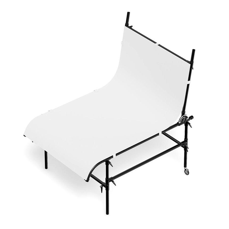 Studio Table 3D Model royalty-free 3d model - Preview no. 5