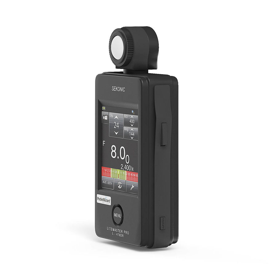 Photometer 3D Model royalty-free 3d model - Preview no. 3